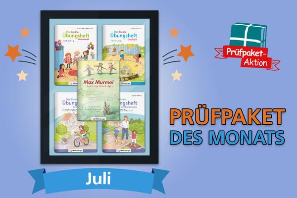 Prüfpaket des Monats – Juli