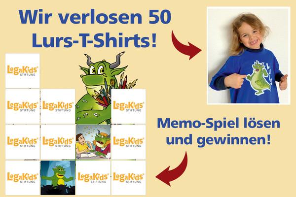 Lurs-T-Shirts gewinnen!