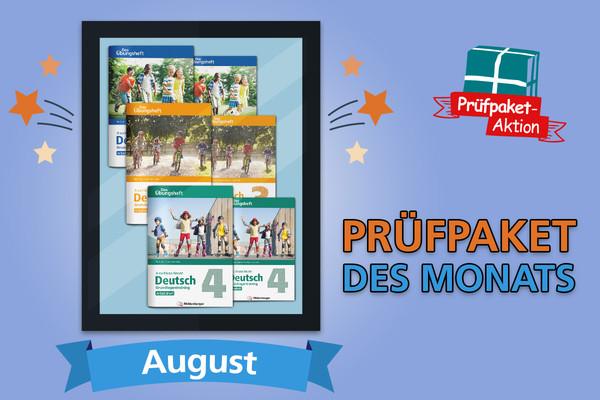 Prüfpaket des Monats – August