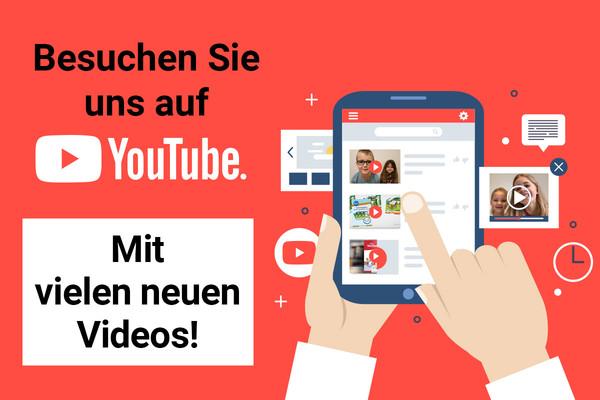 Zu unserem YouTube-Kanal