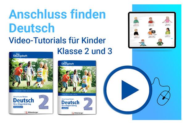 Video-Tutorials Anschluss finden Deutsch