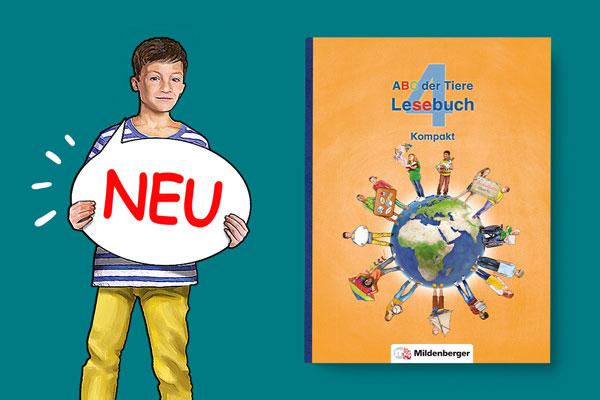 "Jetzt neu: ""ABC der Tiere 4 – Lesebuch Kompakt"""